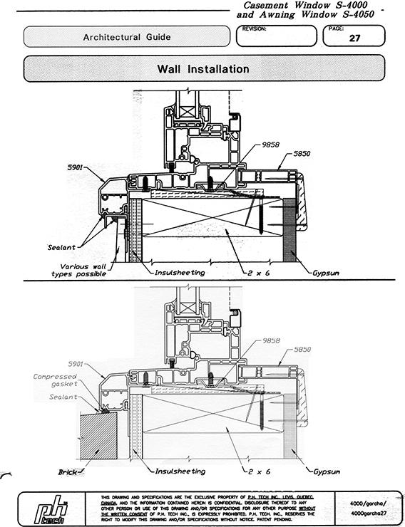 Jeld Wen: Installing Jeld Wen Vinyl Windows